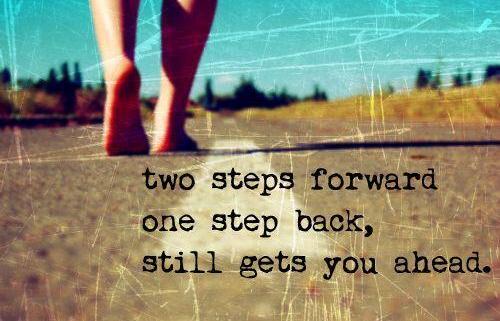 Terugval is natuurlijk maar ga door en pak je zelf weer op. Lees tips en tricks in mijn blog.